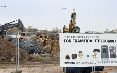 WE EXPAND THE FACTORY FACILITYS IN SMÅLAND, REFTELE